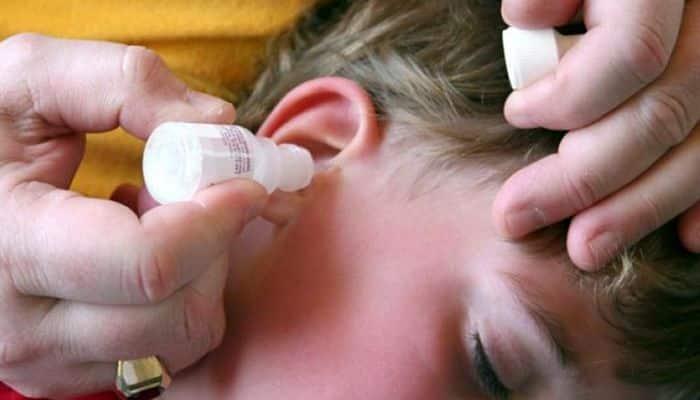 infección de oído aceite